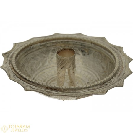 Silver Floating Diya - Jyot for Pooja - 1-S11 - Buy this Latest Indian Gold Jewelry Design in 6.400 Grams for a low price of  $27.35